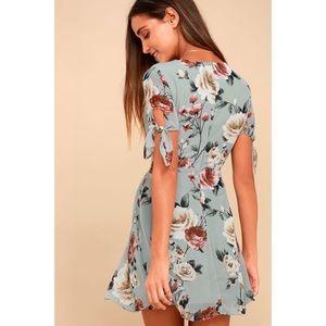 8da1a9a9dd1 Lulu s Dresses - NWT Lulu s Botany Language Floral Skater Dress